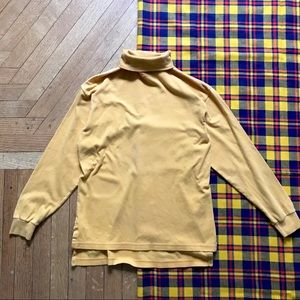 Peruvian Connection Yellow Long Sleeve Turtleneck